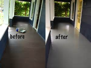 Can You Use Garage Floor Paint On Wood Painting My Porch Diy Project Aholic