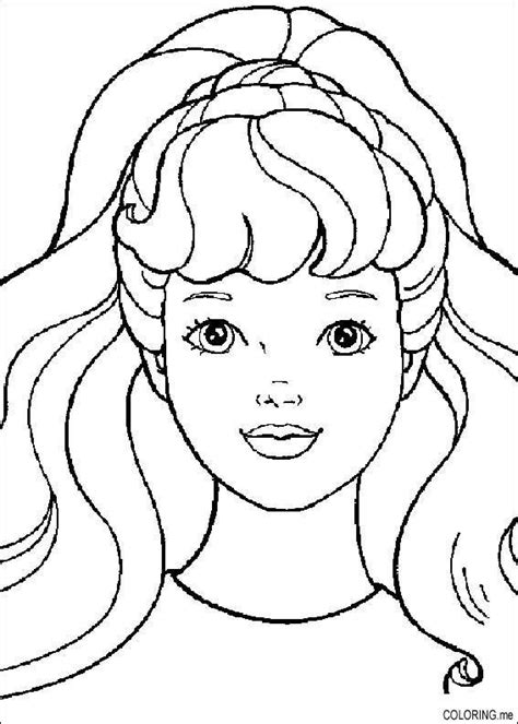 barbie makeup coloring pages coloring pages for barbie make up barbie coloring