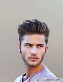 hairstyles for on sides on top latest medium hairstyles for men 2015