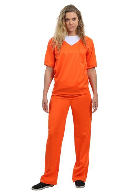 prisoner costume s orange prisoner costume