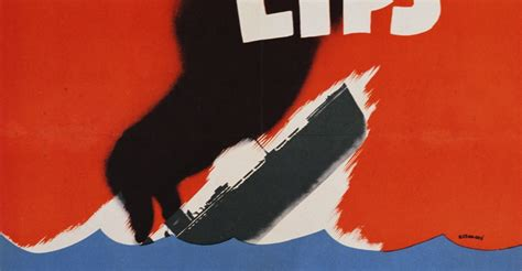 loose lips ships poster recruitment poster by tom woodburn world war ii posters