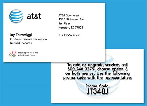 Att Gift Card - misc business cards mrd