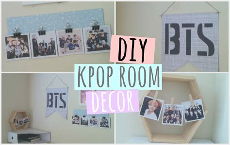 Small Bedroom Ideas For Guys diy kpop room decor bts got7 astro and more youtube