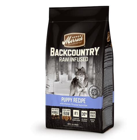 merrick backcountry puppy merrick grain free backcountry puppy recipe