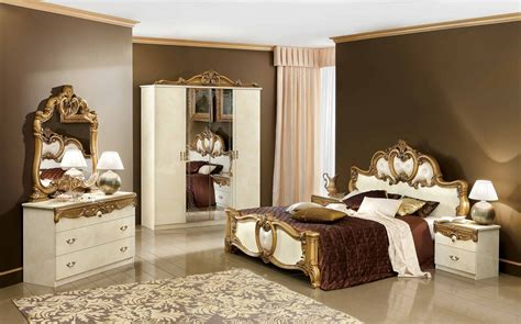 gold bedroom furniture sets esf furniture barocco bedroom set best prices on esf