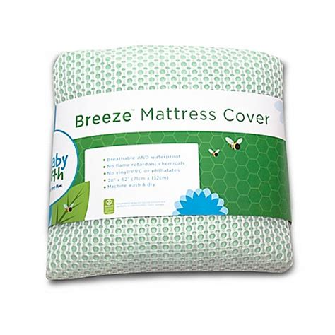 Crib Mattress Pad Cover Breathable Waterproof Crib Mattress Cover Buybuy Baby