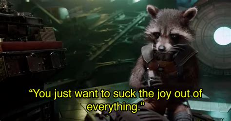 Rocket Raccoon 01 15 times rocket raccoon said what every guardians of the