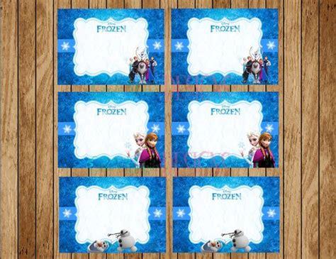 printable frozen labels free disney frozen buffet label food tag instant download