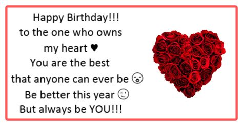 Happy Birthday Messages For Boyfriend Boyfriend Birthday