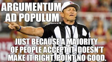 Ad Hominem Meme - best 25 argumentum ad populum ideas on pinterest