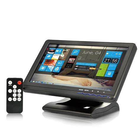 Touchscreen Mini 1 10 1 inch 4 wire touchscreen monitor 1024x600 hdmi av vga ypbpr in tfq e222 us 148 11