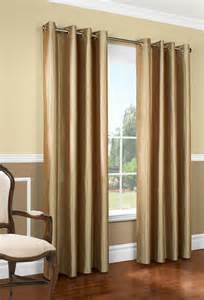 Double Bed Coverlets Miller Faux Silk Insulated Grommet Panel Thermalogic