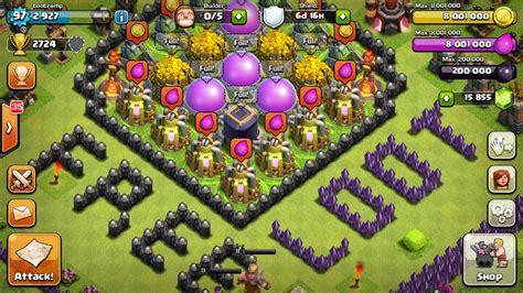 cara membuat pohon natal di clash of clans cara membuat rumah clash of clans clash of dragons apl
