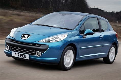 used peugeot prices peugeot 207 hatchback from 2006 used prices parkers