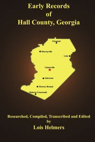 County Ga Records Early Records Of County 9780692367988 Slugbooks