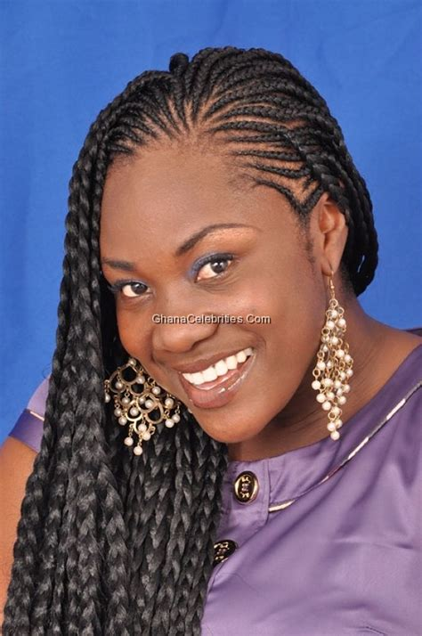 ghanians lines hair styles hot shots actress emelia brobbey looking all fresh