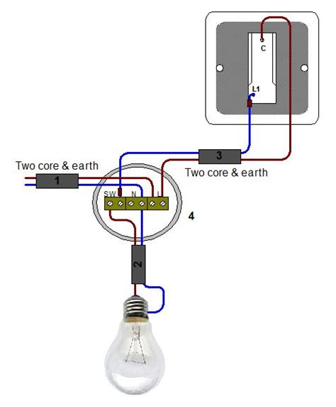 two lights one switch wiring diagram uk recessed can light