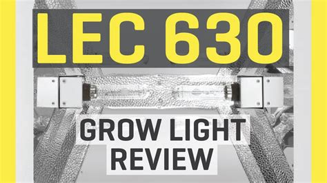 lec grow light review lec 630 grow light review funnydog tv