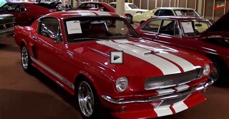 1966 ford mustang fastback restomod car cars