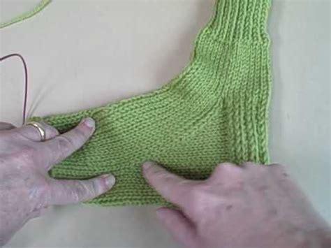 sock gusset knitting kelley s sock class finishing the gusset knit picks