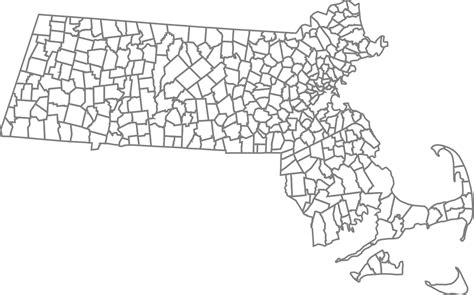 massachusetts city map file map of massachusetts townships plain svg