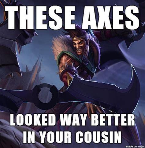 League Of Draven Meme - i promised a draven meme special league of legends