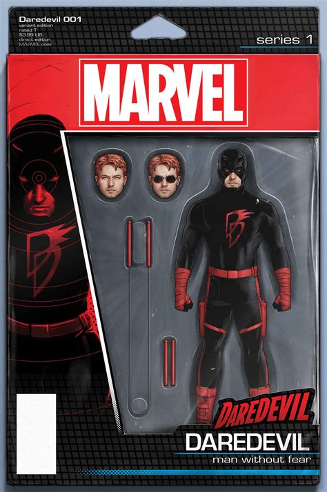 figure variant look daredevil 1 comic vine