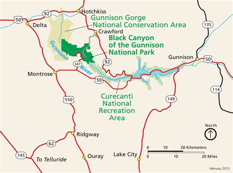 map of national parks in colorado introduction to black of the gunnison national park