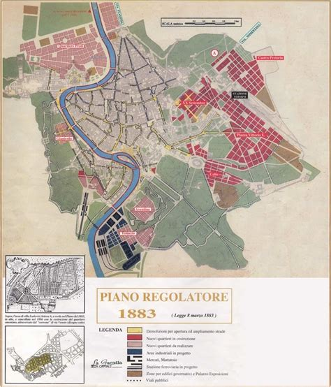 prg roma tavole city planning the evolution of rome