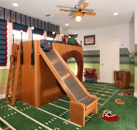 kids sports bedroom turn the house into a playground fun slides designed for