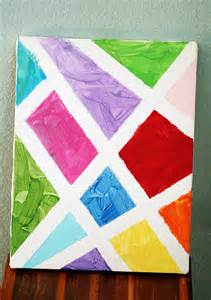 Good Painting Ideas by Simple Abstract Painted Canvas Let S Explore