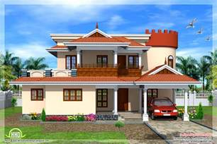 house models plans 2665 square feet kerala model house house design plans