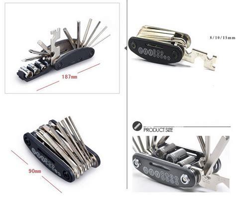 pocket    multi function tools mountain bike tools set bicycle tire repair tools bag