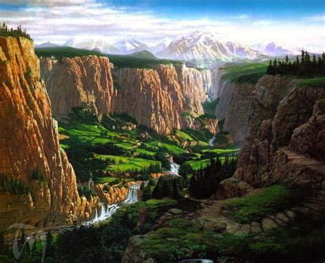 Middle Earth Landscape Inspiration America The Earth Landscaping