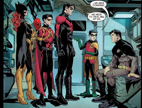 batman a in the family comic frontline the bat family is growing