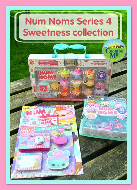Num Noms Starter Pack Series 4 Cookies And Milk num noms series 4 packed with sweetness coombe mill