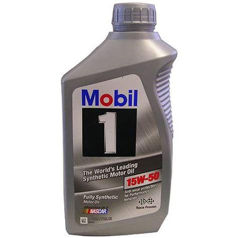 mobil 1 15w50 12347284 15w50 mobil 1 synthetic qt