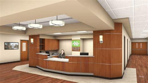 hospital front desk willamette plans 80m expanision kval