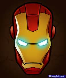 ironman drawing how to draw how to draw iron easy