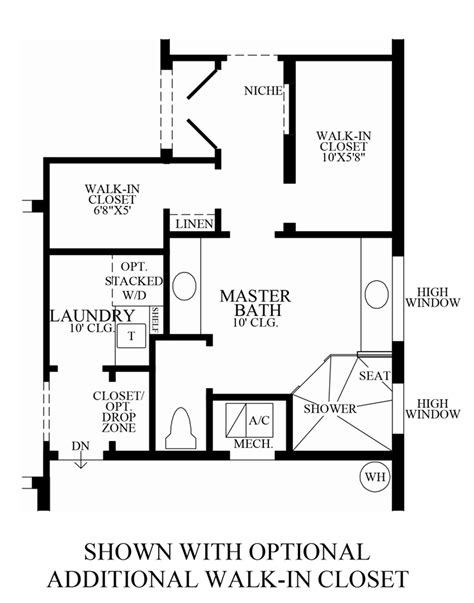 walk in closet floor plans royal cypress preserve the robellini home design