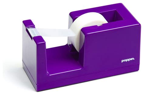 dispenser purple modern desk accessories