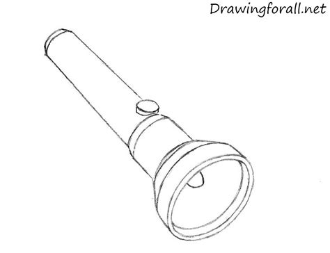 how to lights flash to how to draw a flashlight drawingforall