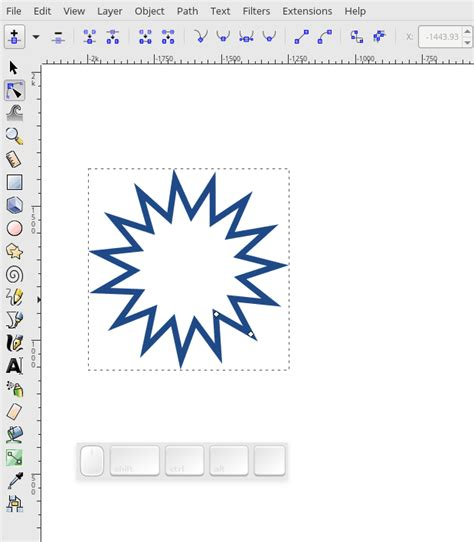 tutorial inkscape path inkscape creating and using paths fedora magazine