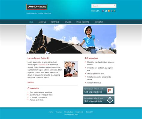 templates for html and css blue multipurpose html web template css templates