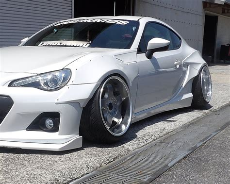 subaru brz body kit rbbrz1 12 rallybacker 12 piece version 1 widebody kit