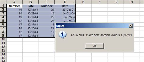 excel median middle value in selection excel tips
