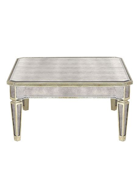 Borghese Mirrored Coffee Table Borghese Coffee Table