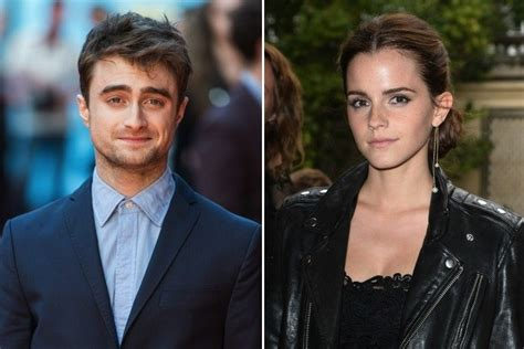 emma watson and daniel radcliffe 2017 imagined celebrity connections how daniel radcliffe