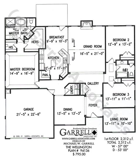 wellington house designs wellington house plan active adult house plans