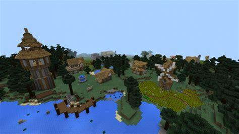 minecraft boat town old medieval village creation minecraft pe maps
